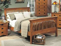 mission style bed frame plans home beds decoration