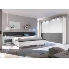 Schlafzimmer Komplett Modern Schlafzimmer Komplett Match Weiß Hochglanz Anthrazit Matt At46185