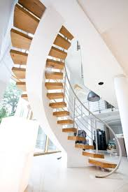 interior round staircase the curved staircase for elegant
