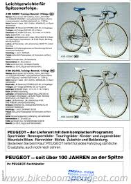 peugeot price list peugeot 1987 germany brochure