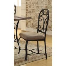 Black Metal Chairs Dining Black Metal Kitchen Dining Room Chairs For Less Overstock