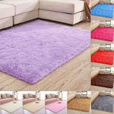 60 120cm large size fluffy rugs anti skid shaggy area rug dining