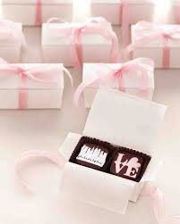 favors for wedding guests 26 chocolate wedding favors that are sweet to pass up martha