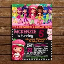 printable birthday invitations strawberry shortcake free strawberry shortcake invitation template zyeon birthday