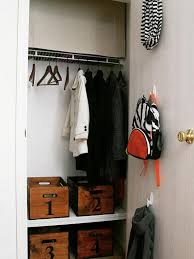 small closet 20 small closet organization ideas hgtv