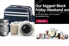 what has the best black friday deals black friday 2015 boots reveal irish deals to run this weekend