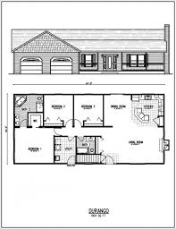ranch house floor plan ranch house plan ottawa 30 601 flr 0 plans associated designs