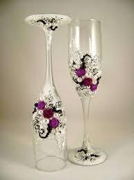 decorazioni bicchieri bicchieri decorati fai da te foto 36 42 tempo libero pourfemme
