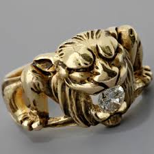 mens vintage rings images Fay cullen archives rings men 39 s antique gargoyle ring jpg