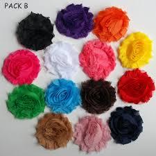 shabby flowers bulk wholesale 14x shabby flowers embellishment 6cm diy for