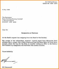 Example Letter Of Resignation Regain Letter Format Sample Letter Of Resignation Template Doc