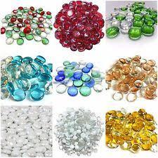 Coloured Glass Beads For Vases Vase Pebbles Other Home Decor Ebay