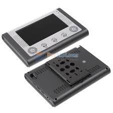7 inch tft lcd hands free video door phone doorbell video entry