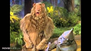 wizard of oz cowardly lion costume cowardly lion growl compilation youtube
