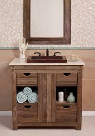 Rustic Bathroom Vanity by Shop Rustic Bathroom Vanities And Sinks Single And Double Sinks