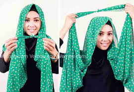 tutorial hijab pashmina tanpa dalaman ninja tutorial pakai jilbab june 2013