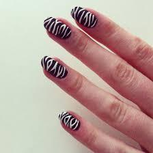zebra nails by benjiiben on deviantart
