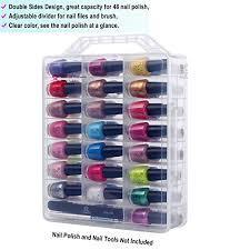 amazon com makartt universal clear nail polish organizer holder
