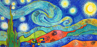 candice ashment art what is hiding in our starry night take a