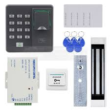 diysecur biometric fingerprint rfid 125khz password keypad door