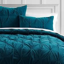 turquoise quilted coverlet velvet pintuck quilt sham pbteen
