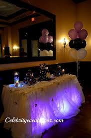 sweet 16 table centerpieces sweet 16 party table centerpiece archives decorating of party