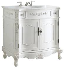 36 Inch Bathroom Vanity Without Top by Vanity Without Top In White Traditional Bathroom Vanities And Sink