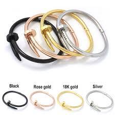 love cartier bracelet ebay images 18k gold plate jewelry titanium stainless steel luxury brand jpg