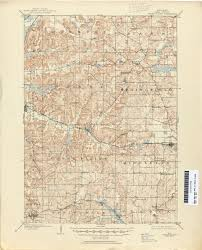 Hudson Wisconsin Map by