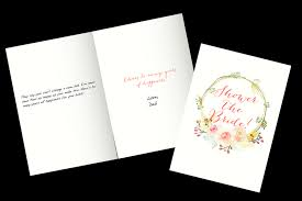 Belated Wedding Card Bridal Shower Wishes What To Write In A Bridal Shower Card