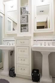 bathroom sink under pedestal sink storage bathroom sink