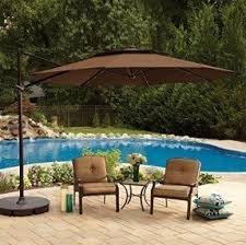 Patio Umbrella Led Lights by Crank Patio Umbrellas Foter