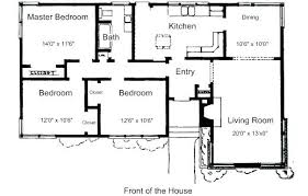 3 bedroom ranch house floor plans simple ranch house plans simple 4 bedroom house plans simple 4