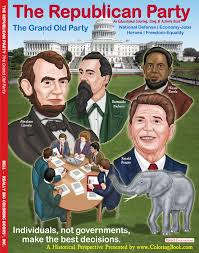 coloring books republican party grand party