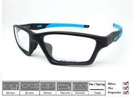 Jual Kacamata Oakley Crosslink jual kacamata original frame oakley crosslink sweep satin black blue