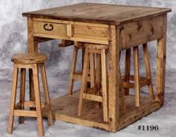 Pine Kitchen Tables And Chairs by Rustic Pine Kitchen Cabinets Islands And Hutches Accent