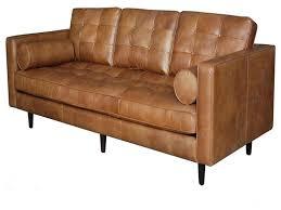 Black Leather Mid Century Sofa Marvelous Mid Century Modern Leather Sofa 23 Beautiful