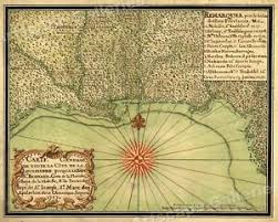 louisiana florida map 1740s early map of the gulf coast louisiana florida