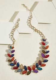 necklace statement images Harmonious harvest statement necklace in warm tones modcloth jpg