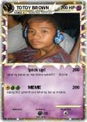 Totoy Brown Memes - pokémon totoy brown 19 19 pick up my pokemon card
