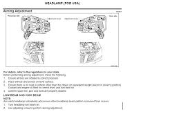 infiniti qx56 headlight assembly headlight adjustment nissan armada forum armada u0026 infiniti qx56