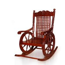 Wood Rocking Chair Wooden Rocking Chair In Saharanpur Uttar Pradesh India Indiamart
