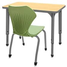 student desk and chair marco group classroom set 20 apex single student desks chairs in