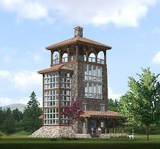 house with tower 44 best tower images on pinterest homes facades and home plans