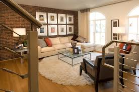 brick accent wall home decor waplag contemporary house respect