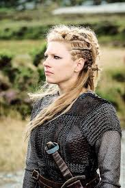 lagertha lothbrok hair braided multi braid messy look fotoshoot med vikinger pinterest