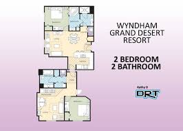 wynn las vegas floor plan 2br lockoff grand desert resort a3 apartments for rent in las
