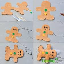 pandahall tutorial on how to make felt hanging decorations for
