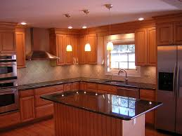 eye catching l shaped island and countertop for kitchen table