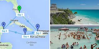 caribbean cruise itineraries western eastern and southern